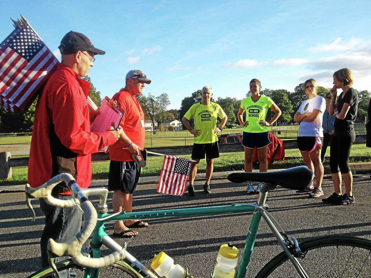 The 2013 Run for the Fallen honored all servicemen and women who have lost their lives during their service in Operation Enduring Freedom and Operation Iraqi Freedom at Snow School in Middletown.