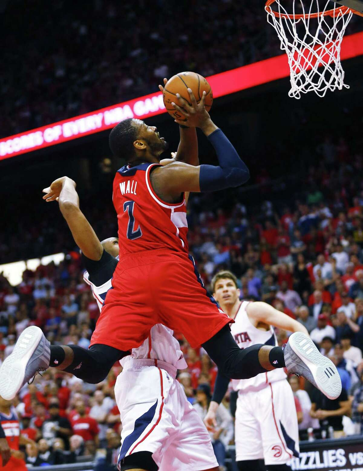 Washington Wizards guard John Wall has multiple fractures in his wrist and hand.