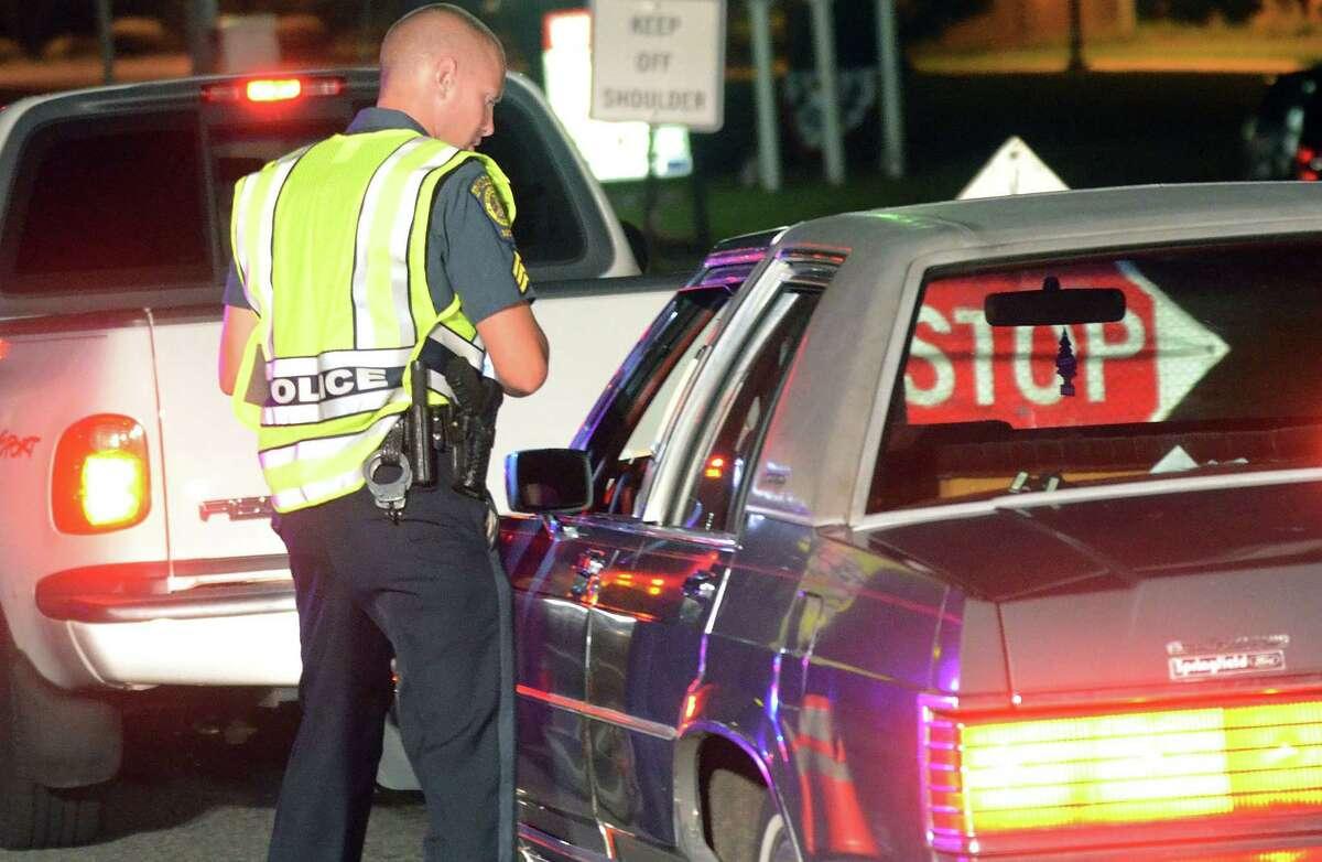File photo DUI checkpoint