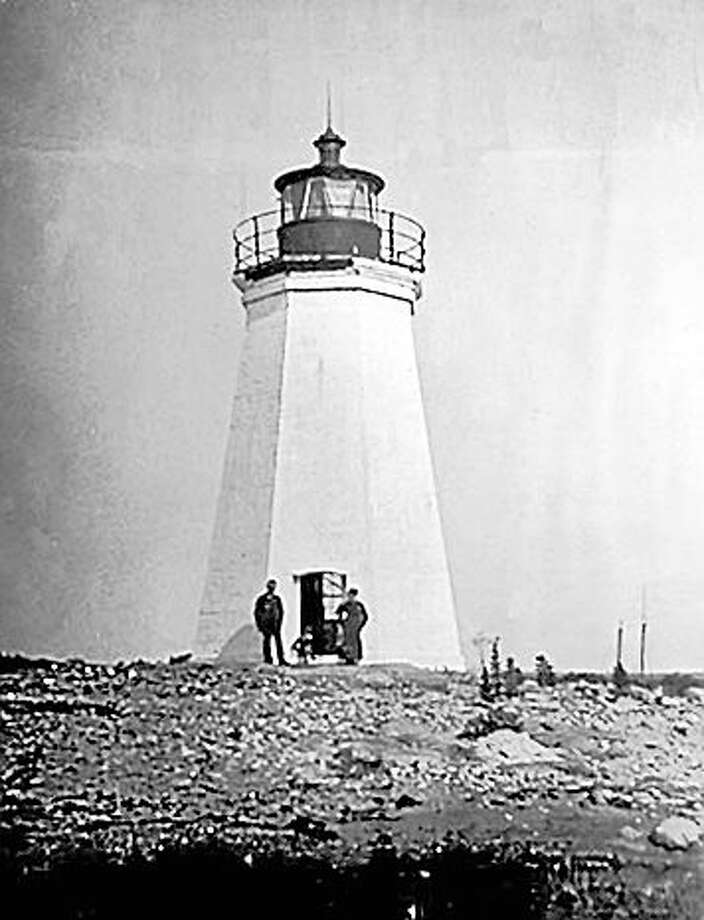 The Fayerweather Lighthouse in the early 1900s. Photo: Photo Courtesy Of US Coast Guard