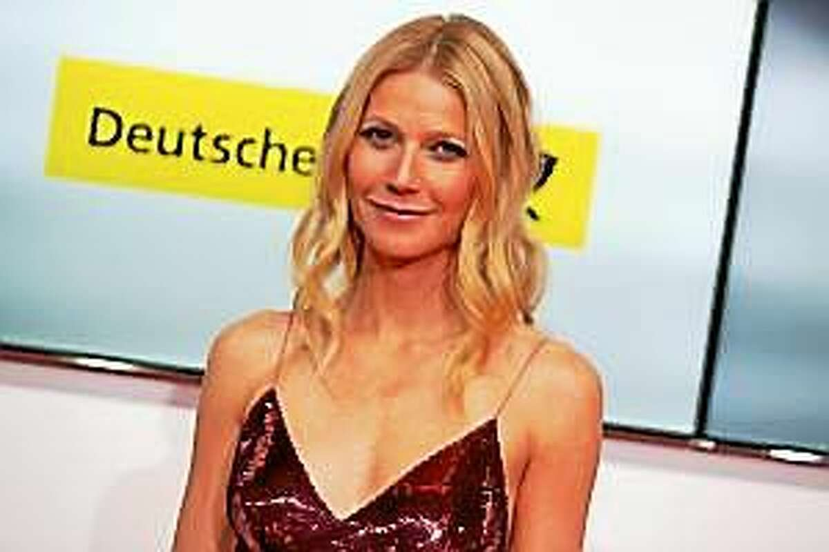 This Feb. 1, 2014, file photo shows American actress Gwyneth Paltrow at the Goldene Kamera (Golden Camera) media awards in Berlin, Germany.