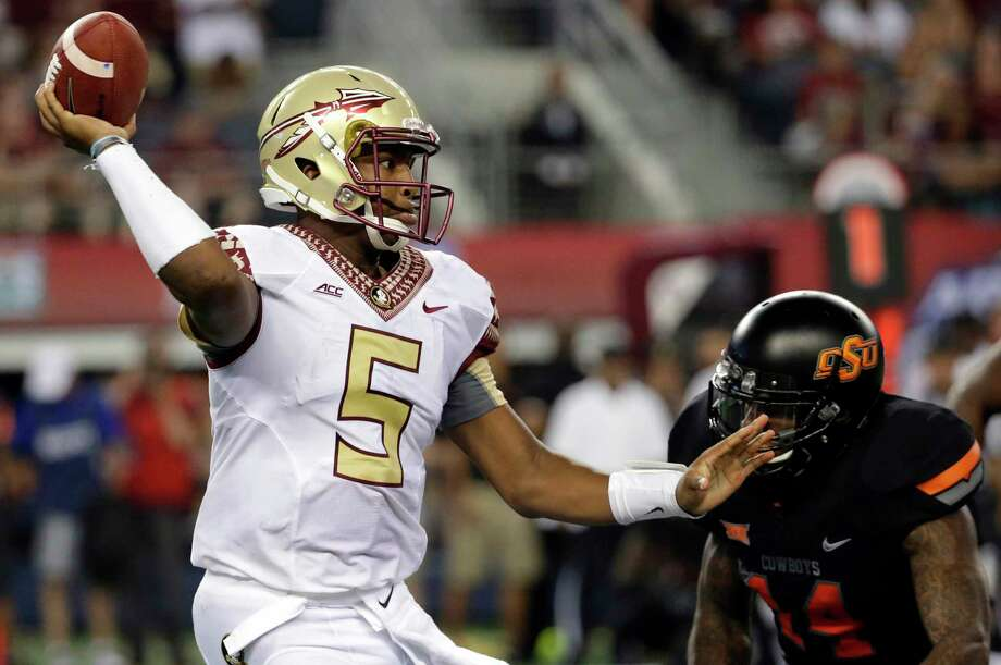 Florida State quarterback Jameis Winston is being investigated again. Photo: Tony Gutierrez — The Associated Press  / AP