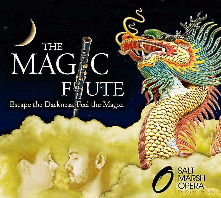 """The Magic Flute"" tells the story of a prince plagued by a serpent and lost in a distant land, an opera that Middletown fifth- and sixth-graders will enjoy on May 18. Photo: Courtesy Salt Marsh Opera"