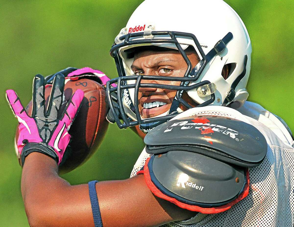 Middletown's Dario Highsmith rushed for 2,768 yards, scored 35 touchdowns and passed for 930 yards on his way to winning the prestigious Gatorade State Player of the Year Awar