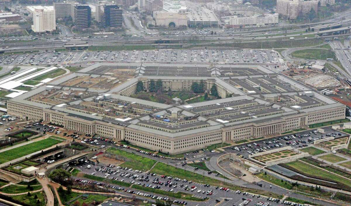 FILE - In this March 27, 2008, file photo, the Pentagon is seen in this aerial view in Washington. Is the U.S. spending enough money on defense, and is it spending it in the right ways? In the aftermath of the 9/11 terrorist attacks the money spigot was turned wide open, pouring hundreds of billions of dollars into the wars in Iraq and Afghanistan and expanding the armed forces. Now thatís changing, and an important issue in the election is whether budget cuts have gone too far. (AP Photo/Charles Dharapak, File)