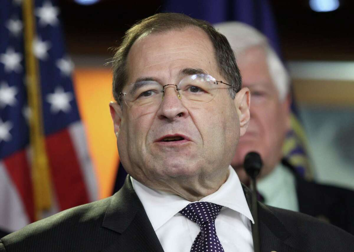 In this June 16, 2015 file photo, Rep. Jerrold Nadler, D-N.Y. speaks during a news conference on Capitol Hill in Washington. Nadler has announced he is backing President Barack Obamaís Iran nuclear deal. Nadler says in a statement on Friday that the agreement ìgives us the best chance of stopping Iran from developing a nuclear weapon.