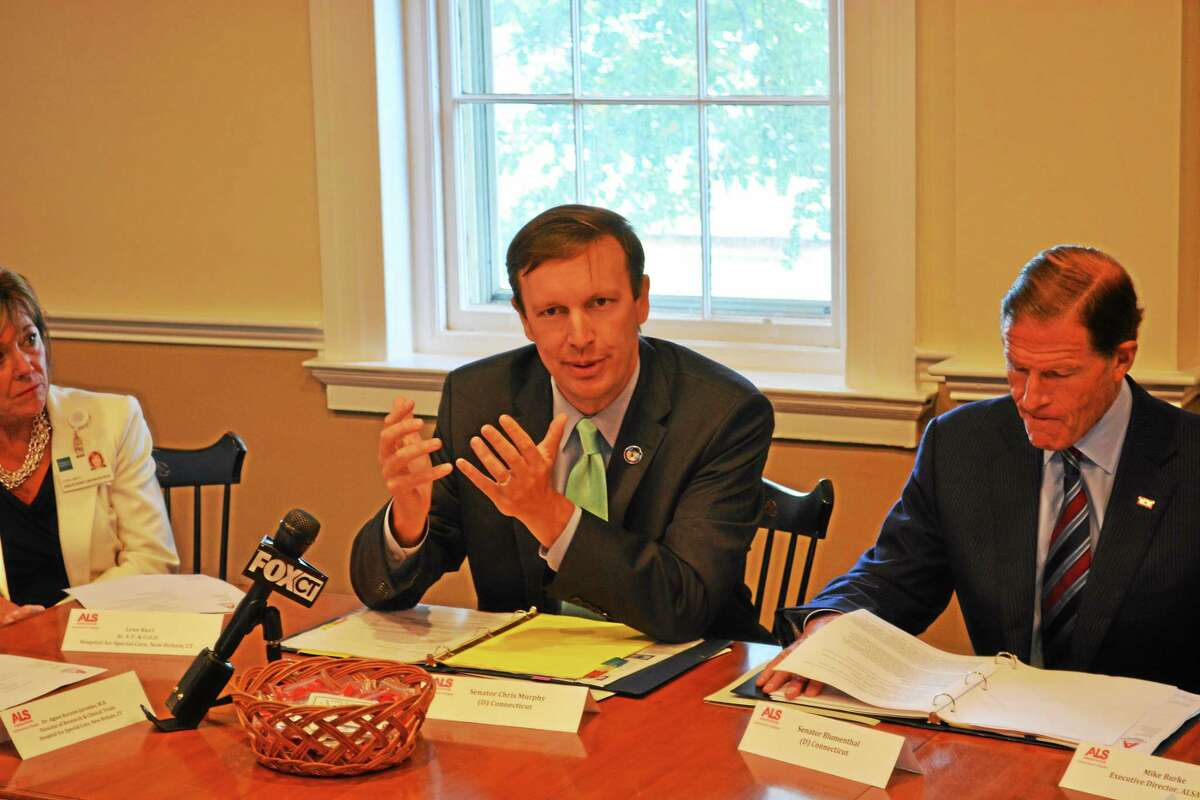 U.S. Sen. Christopher Murphy, D-Connecticut