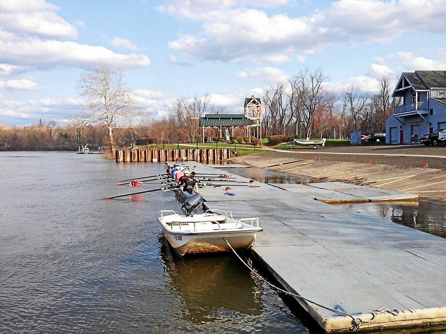 Officials praised the State Bond Commission for giving $2.6 million to redevelop the Connecticut riverfront in Middletown, which offers picturesque views from Harbor Park. Photo: Cassandra Day — The Middletown Press