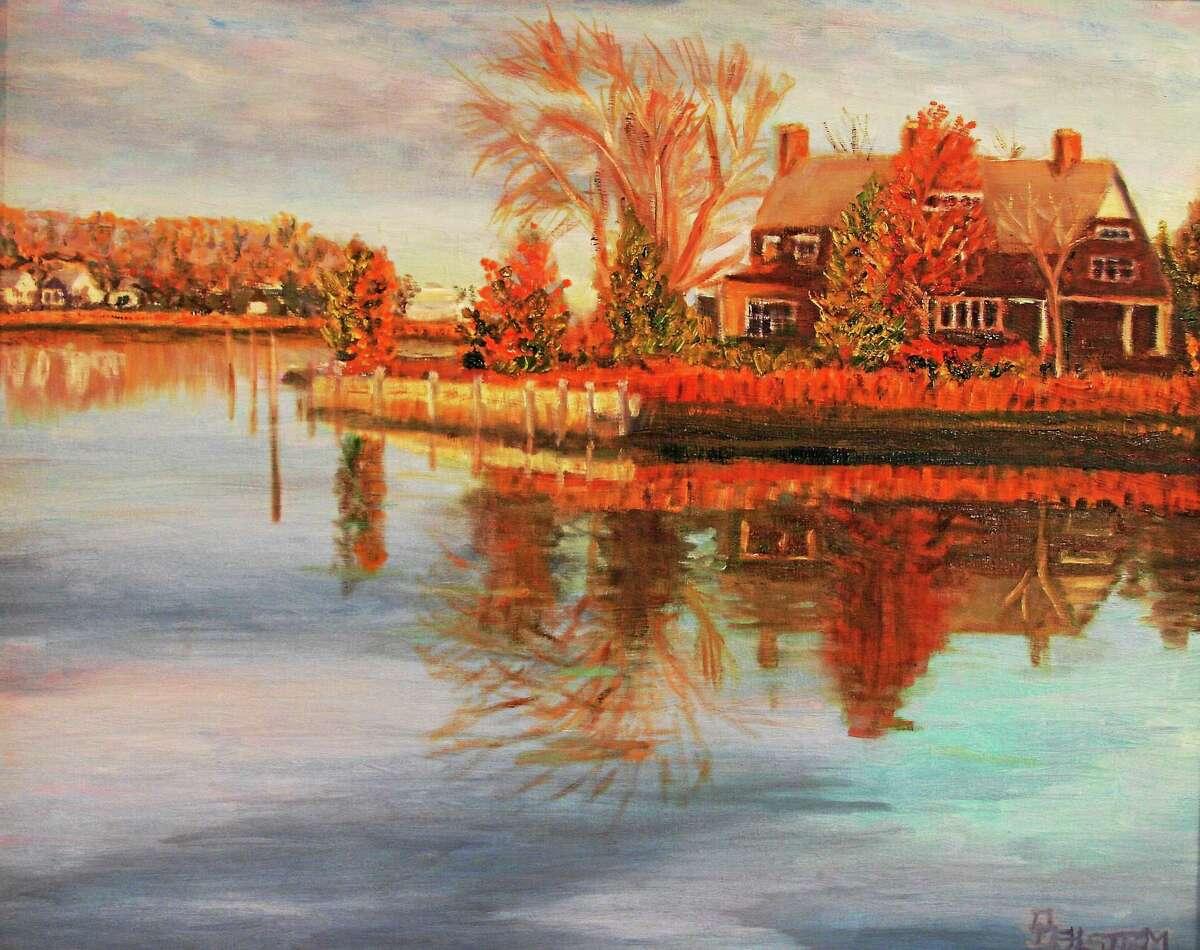 """Reflecting"" by Daniel Dahlstrom"
