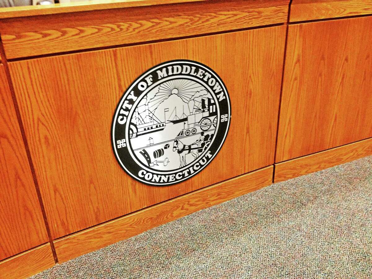 Middletown City Hall Council Chambers, where