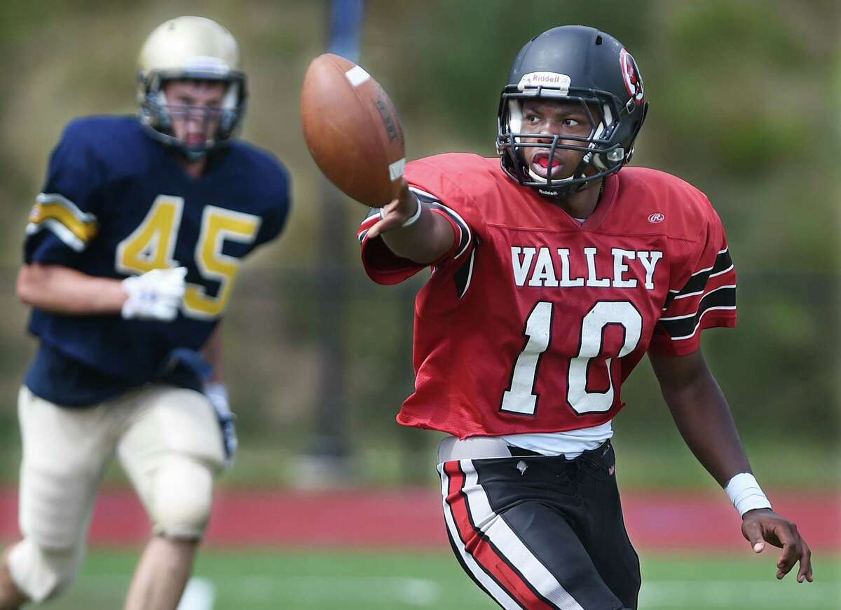 Valley Regional/Old Lyme senior Chris Jean-Pierre is preparing to take over at quarterback this season for the Warriors.