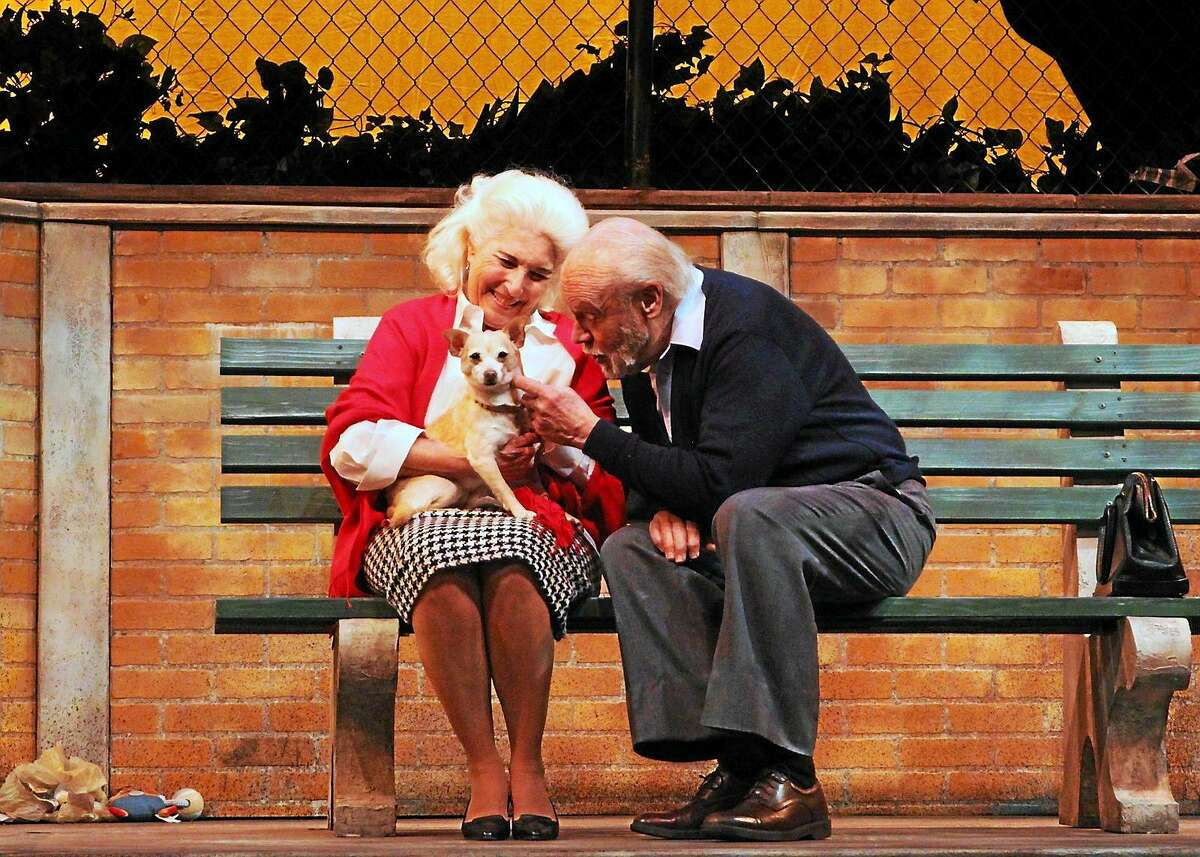 """Photos courtesy of the Ivoryton Playhouse Rochelle Slovin, Chet Carlin and Peaches in a scene from """"The Last Romance"""" at the Ivoryton Playhouse."""