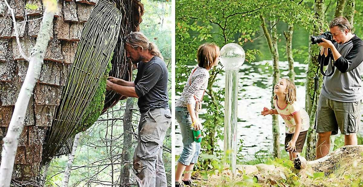Since 2001, I-Park has hosted over 600 artists on its 450-acre nature preserve in East Haddam.