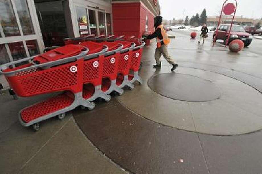 A Target store in Burnsville, Minn.
