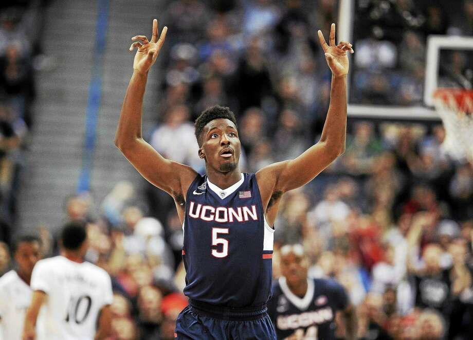 Daniel Hamilton and UConn open the AAC portion of their schedule on Jan. 2 at Tulane, the day after the Sugar Bowl in New Orleans. Photo: Jessica Hill — The Associated Press File Photo  / FR125654 AP
