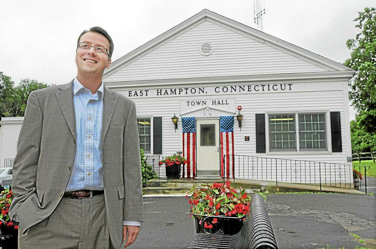 Michael Maniscalco is East Hampton's town manager.