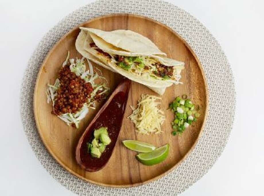 Tacos With Spicy, Smoky Lentils.
