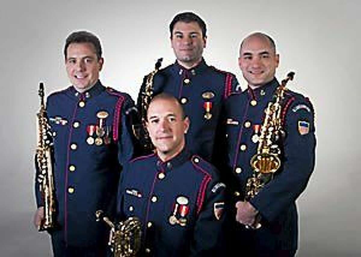 Submitted photo - USCG A concert by the United States Coast Guard Band Saxophone Quartet will be held Saturday, Sept. 27 at 1 pm. at the Centerbrook Meetinghouse, 51 Main Street, Centerbrook. The event is free and open to the public.