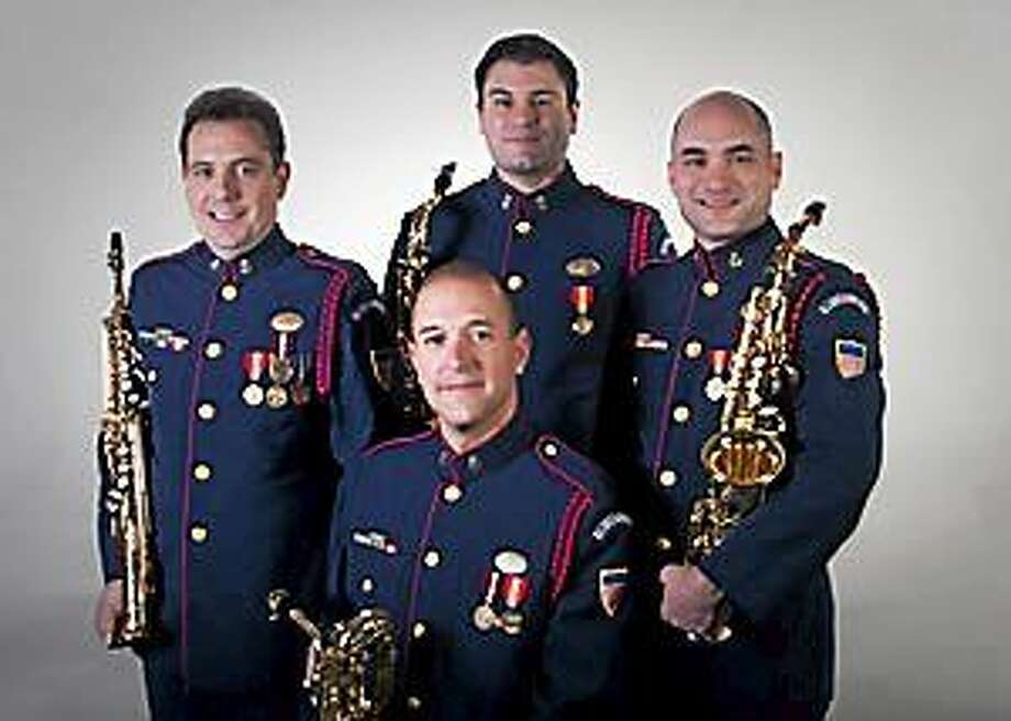 Submitted photo - USCG A concert by the United States Coast Guard Band Saxophone Quartet will be held Saturday, Sept. 27 at 1 pm. at the Centerbrook Meetinghouse, 51 Main Street, Centerbrook. The event is free and open to the public. Photo: Journal Register Co.