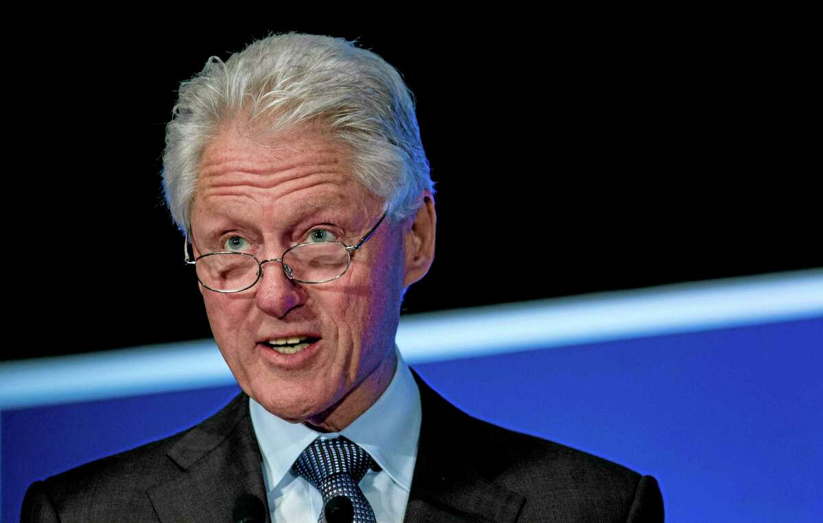 Former President Bill Clinton addresses the Clinton Global Initiative (CGI) Mid-Year Meeting Monday, May 6, 2013 in New York.