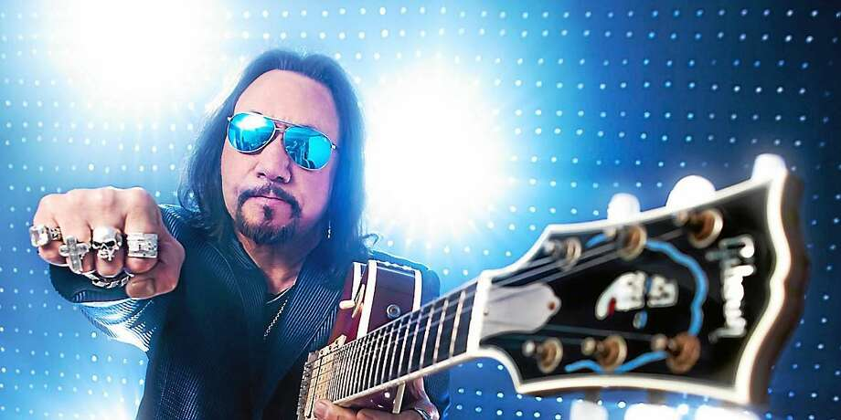 Contributed photo - Ace Frehley Former KISS guitarist Ace Frehley will perform with his solo band at the Big E in West Springfield, Massachusetts on Sunday Sept. 27. Photo: Journal Register Co.