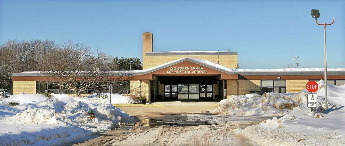 Catherine Avalone/The Middletown Press ¬ Moody Elementary School in Middletown.