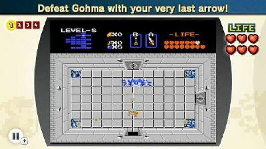 "A screenshot from ""NES Remix"" for the Wii U."