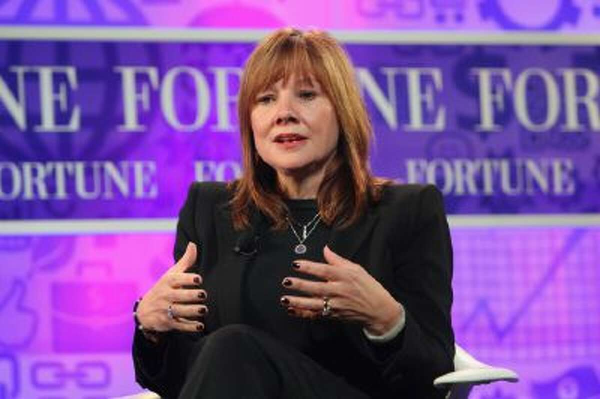General Motor's Mary Barra speaks at the FORTUNE Most Powerful Women Summit on Oct. 16 in Washington, DC.