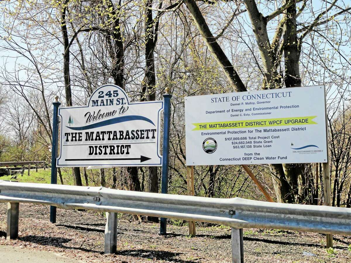 The Mattabassett District's Water Pollution Control facility processes wastewater from New Britain, Berlin, Cromwell, Middletown, Newington, Rocky Hill and Farmington.