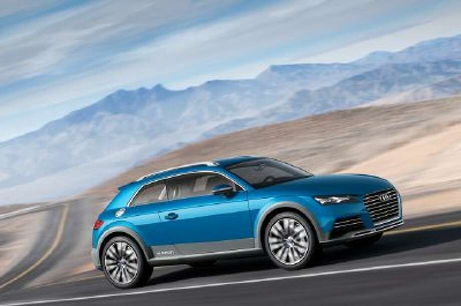 The car combines Audi's all-wheel-drive and hybrid technology know-how in a very compact package.