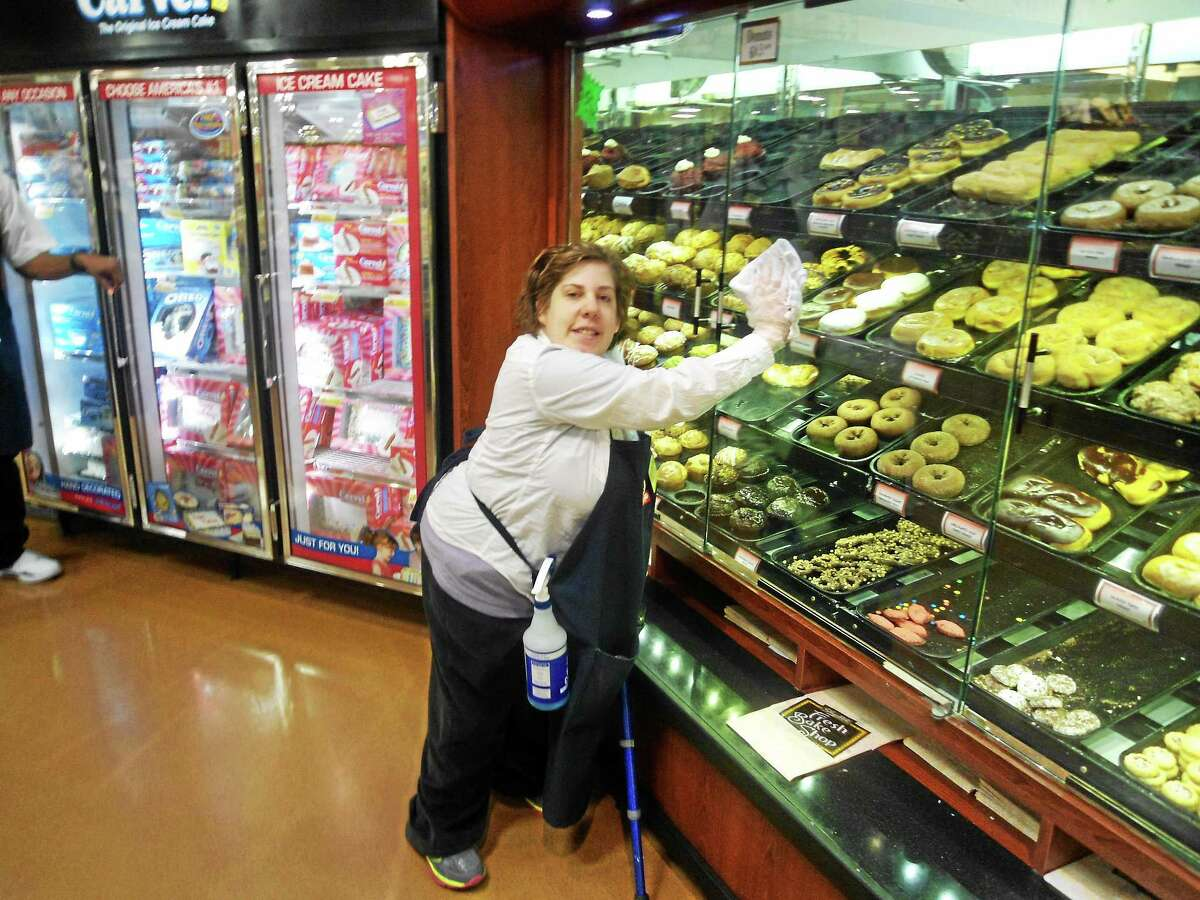 Submitted photo Kaitlyn McNamara, 24, of Middletown, has been working at ShopRite in East Hartford for four years now as part of MARC: Community Resources's employment program.