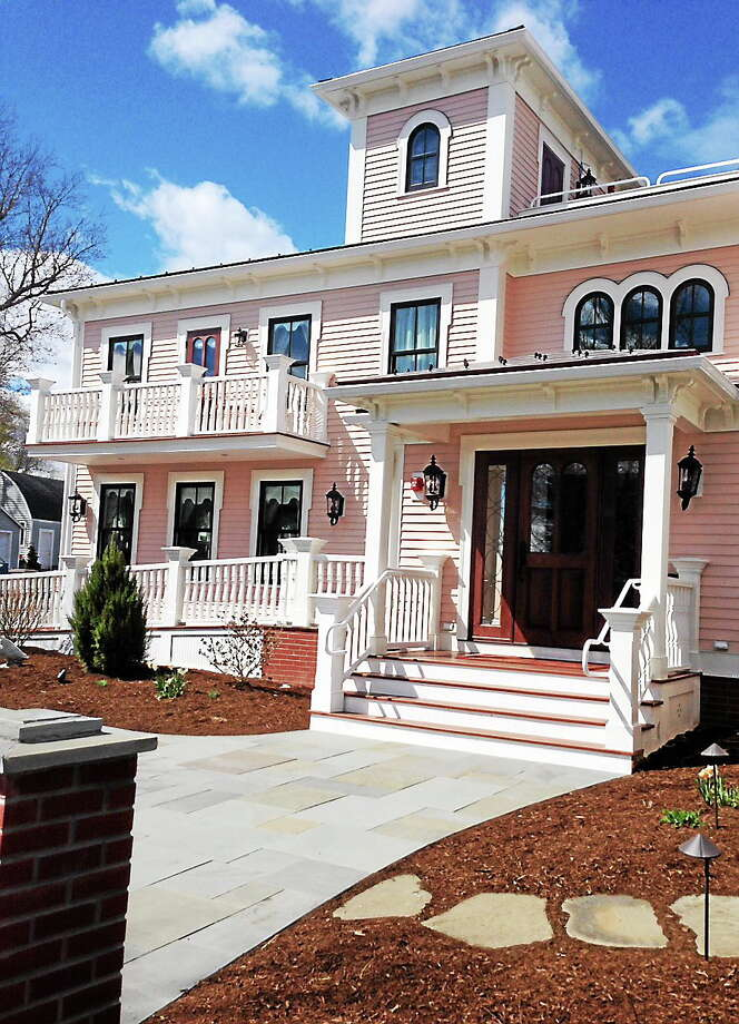 Submitted photo Saybrook Point Inn & Spa opened its new Three Stories guesthouse adjacent to the main inn. Photo: Journal Register Co.