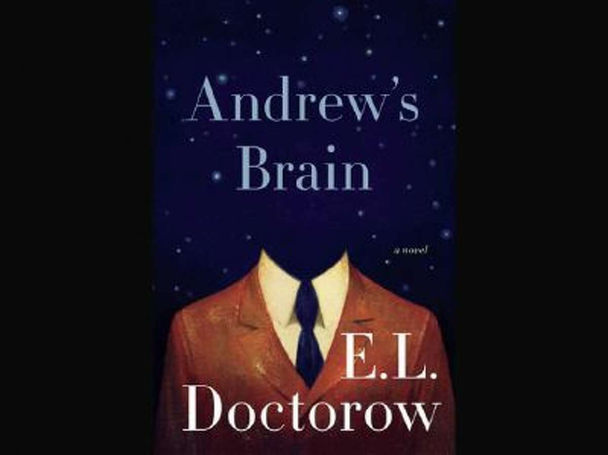 """This book cover image released by Random House shows """"Andrew's Brain,"""" by E.L. Doctorow."""