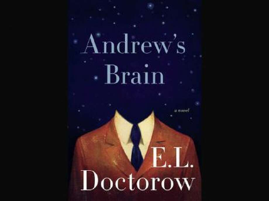 "This book cover image released by Random House shows ""Andrew's Brain,"" by E.L. Doctorow."