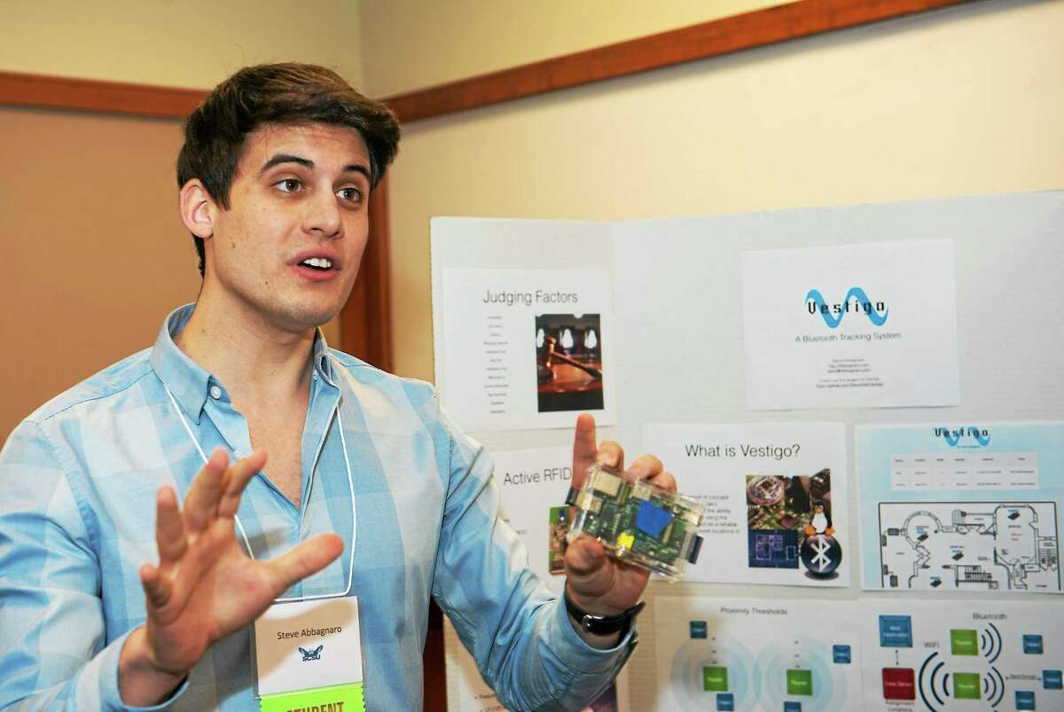 Steve Abbagnaro of Durham is developing technology for the U.S. Department of Homeland Security through his company.