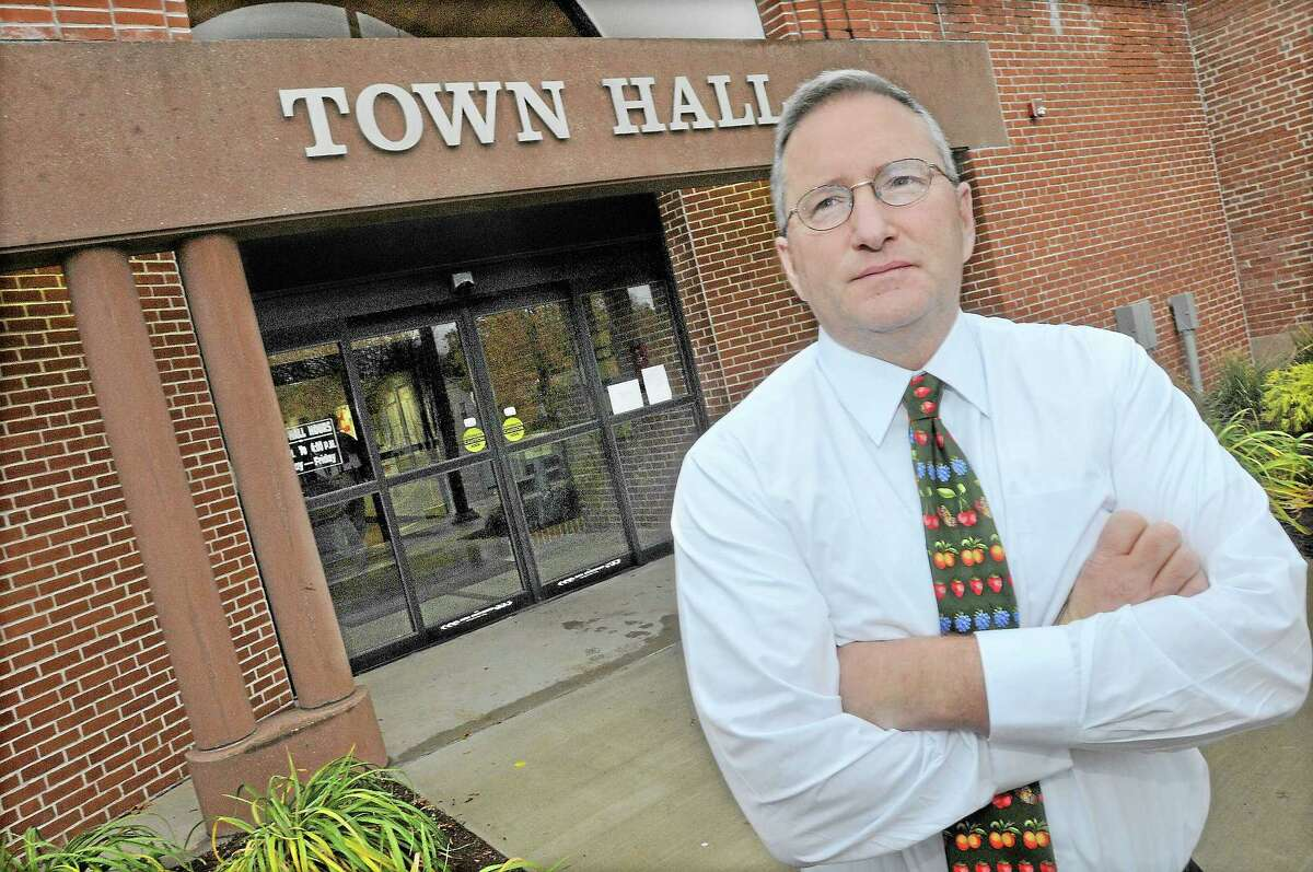 Jon Sistare, the town manager in Cromwell.