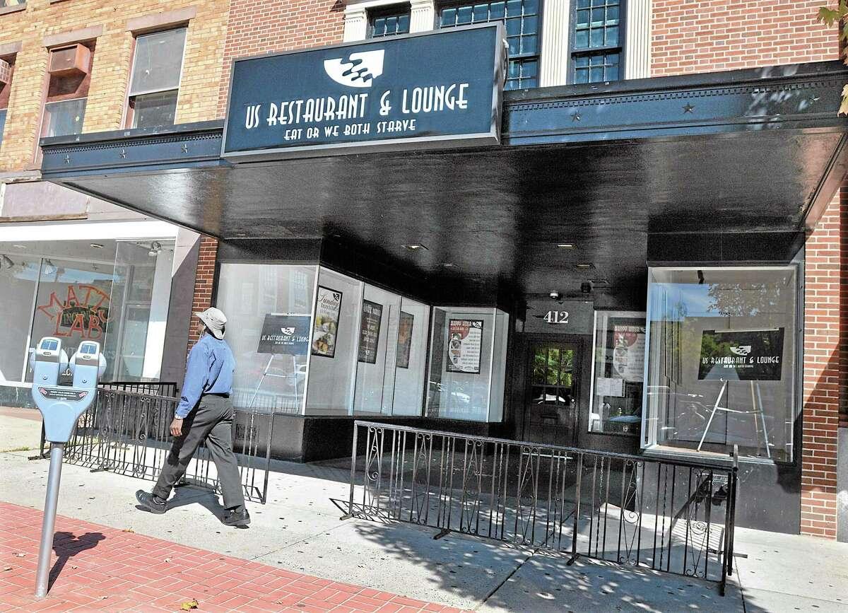 The former Us Restaurant on Main Street in Middletown