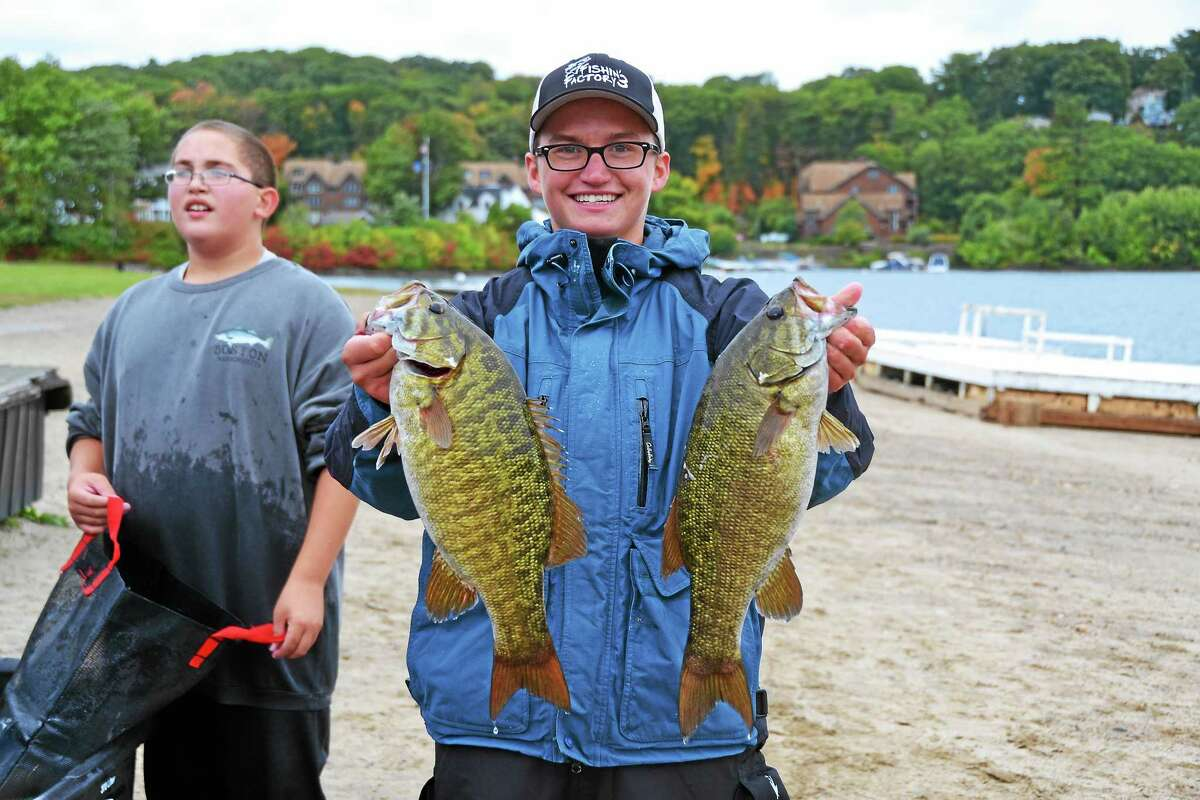 Bailey Hood, 17, an avid fisherman, is a senior at Vinal Technical High School in Middletown.