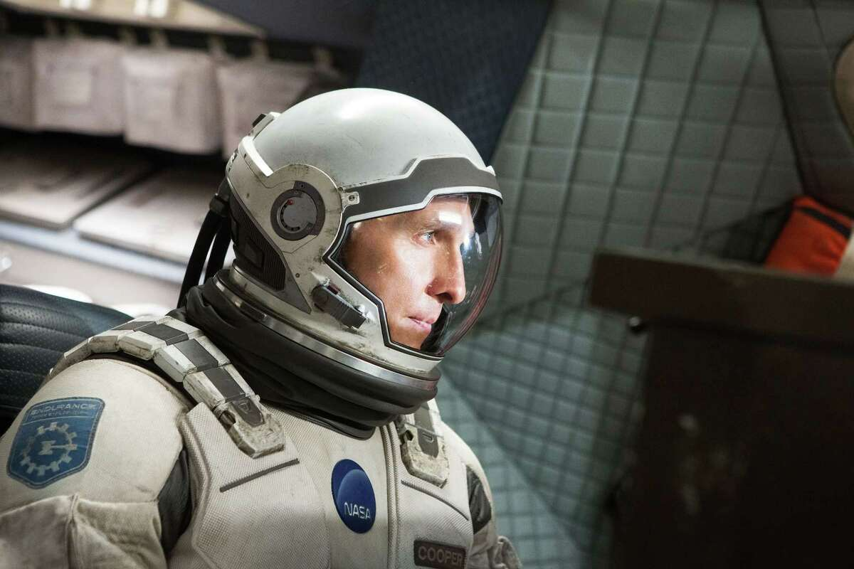 """This photo released by Paramount Pictures shows, Matthew McConaughey, in a scene from the film, '""""Interstellar,"""" from Paramount Pictures and Warner Brothers Pictures, in association with Legendary Pictures. (AP Photo/Paramount Pictures, Melinda Sue Gordon)"""