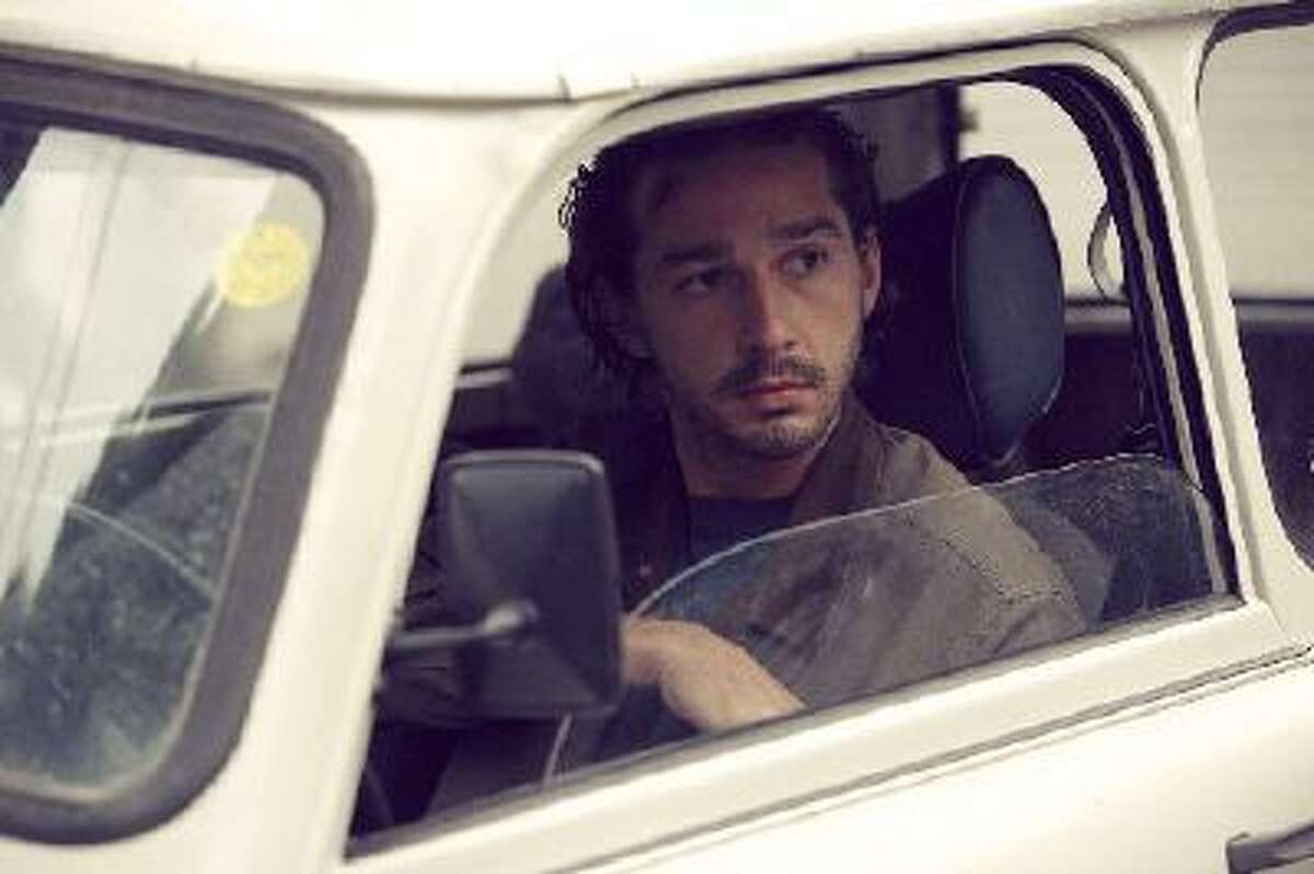 """Shia LaBeouf in a scene from """"Charlie Countryman, """" about a man who falls for a woman who belongs to a violent crime boss."""