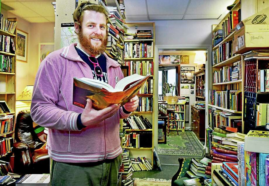 Chester resident Colin Bennett, owner of Bennett's Books at 171 Main Street Rear in Deep River, is a long-term substitute teacher for Regional District 4. He opened up the eclectic used book store four months ago. Photo: Catherine Avalone — The New Haven Register  / New Haven RegisterThe Middletown Press