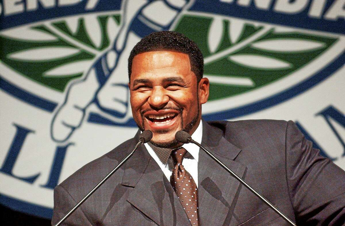 """Jerome Bettis has been named the Walter Camp Football Foundation's """"Man of the Year."""""""