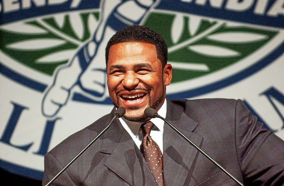 """Jerome Bettis has been named the Walter Camp Football Foundation's """"Man of the Year."""" Photo: Joe Raymond — The Associated Press File Photo  / 2004 AP"""