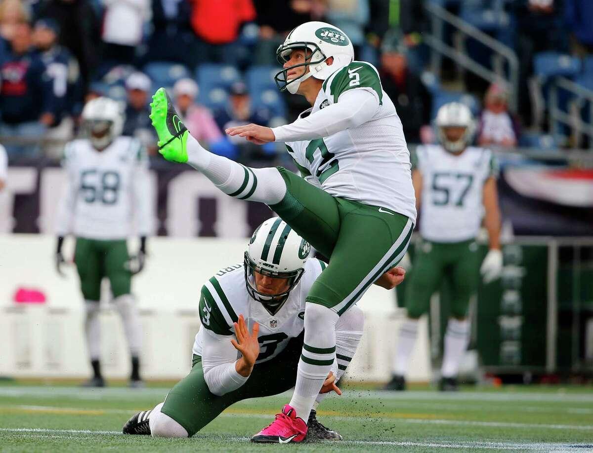 The New York Jets have released punter/holder Steve Weatherford.