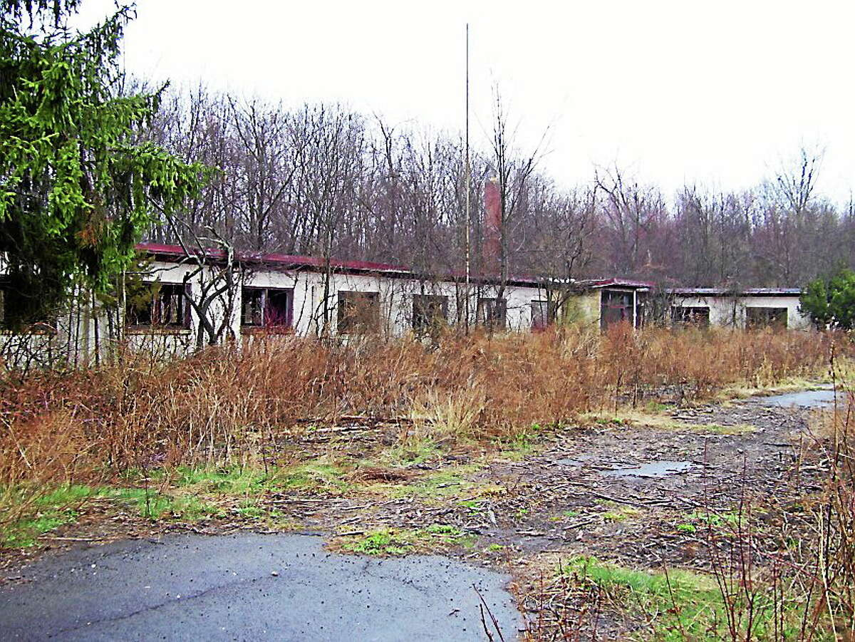 The old Nike anti-aircraft missile site in Cromwell off Country Squire Road.