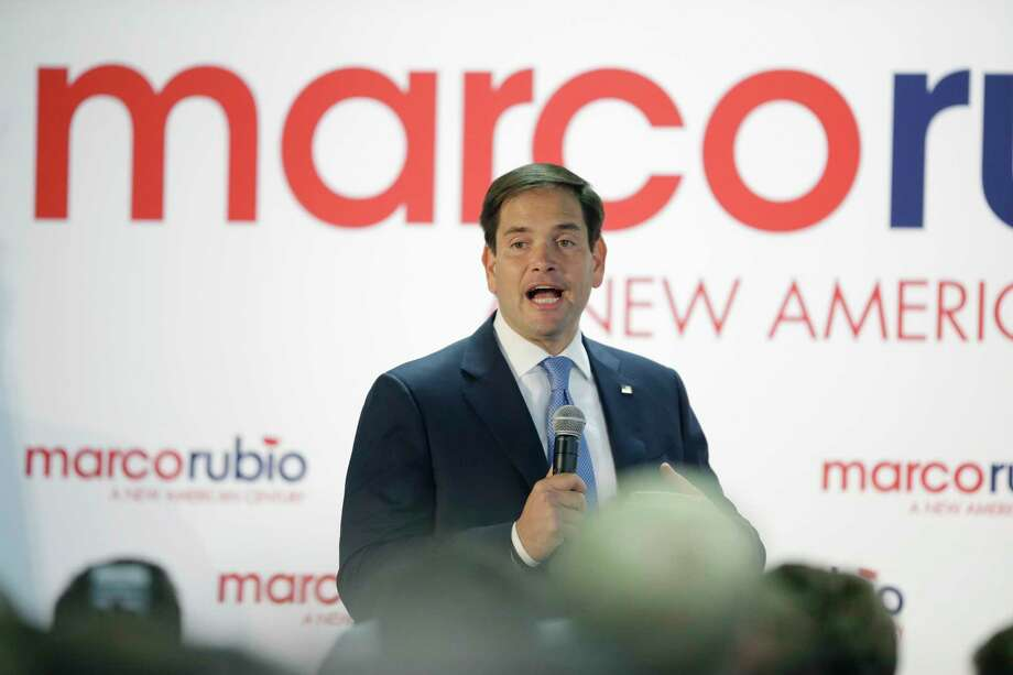 Republican presidential candidate Marco Rubio speaks during a campaign rally at the Utah State Fairpark on Oct. 19, 2015, in Salt Lake City. Rubio pitched himself as a fresh face in his party's crowded primary contest during the campaign stop in Utah. Photo: AP Photo/Rick Bowmer  / AP