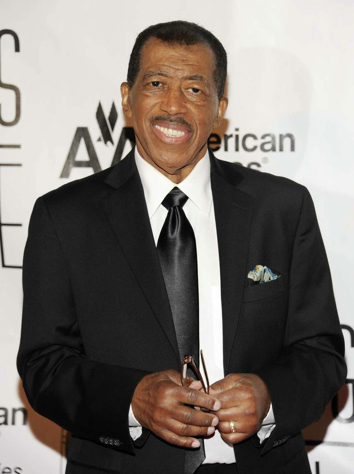"""FILE - In this June 14, 2012, file photo, Towering Performance Award inductee Ben E. King arrives at the 2012 Songwriters Hall of Fame induction and awards gala in New York. King, singer of such classics as """"Stand By Me,"""" """"There Goes My Baby"""" and """"Spanish Harlem,"""" died Thursday, April 30, 2015, publicist Phil Brown told The Associated Press. He was 76."""