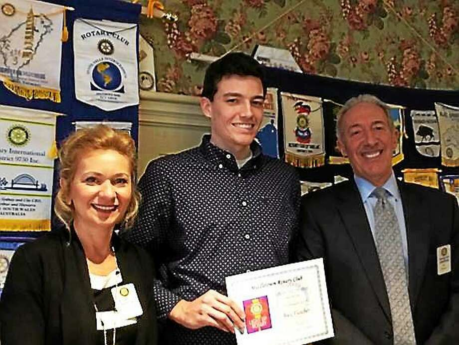 Alex Fletcher of Cromwell is the Middletown Rotary Student of the Month for March. Photo: Courtesy Photo