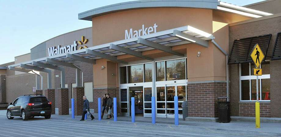 Walmart in Cromwell. Photo: Catherine Avalone — The Middletown Press  / TheMiddletownPress
