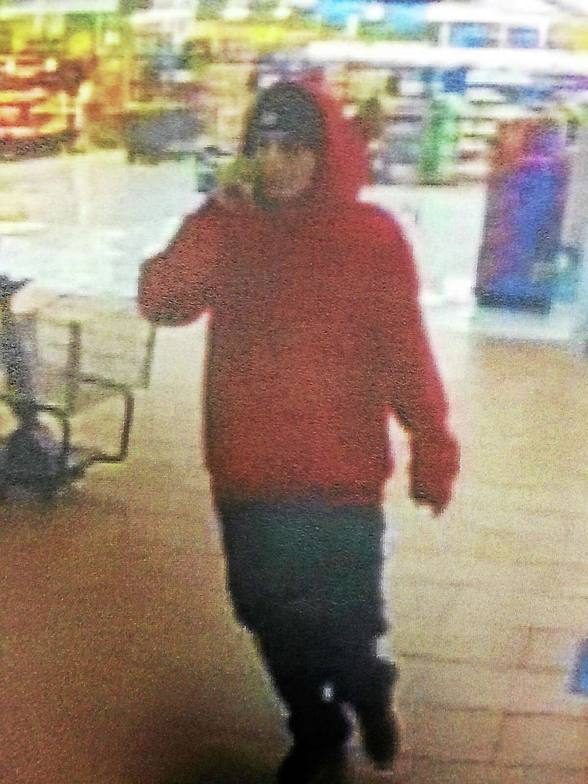 Courtesy state police Authorities are searching for two men they say broke into a number of cars last week and stole items.